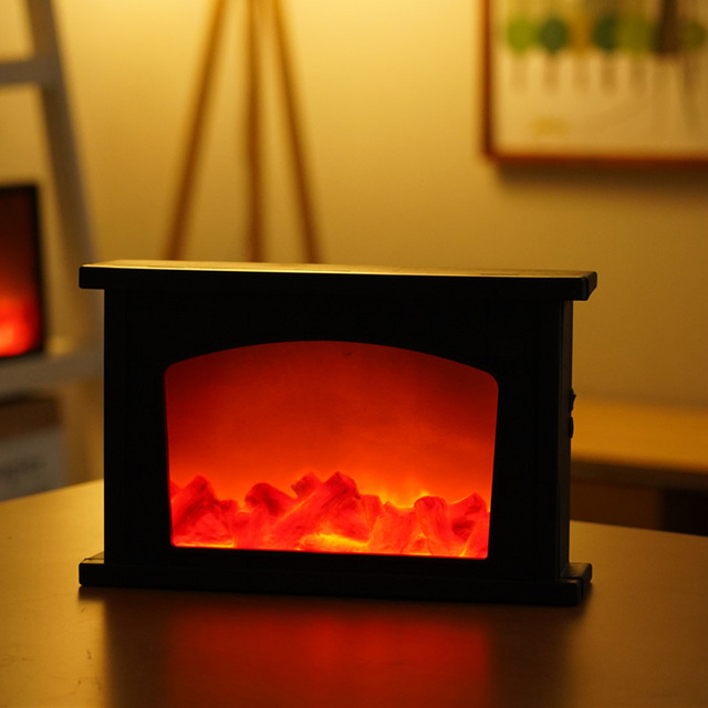 Led Simulation Fireplace Flame  1