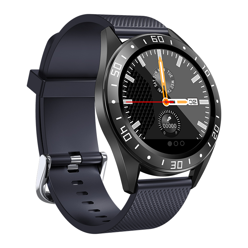 GW15右-蓝 Montre intelligente IP68, montre de Fitness