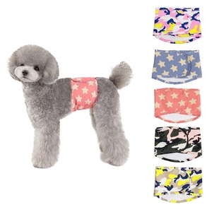 Pet Physiological Pants Cotton Wrap Shorts Diaper washable Male Dog Nursing Nappy Reusable Sanitary Panties Belt Physiological