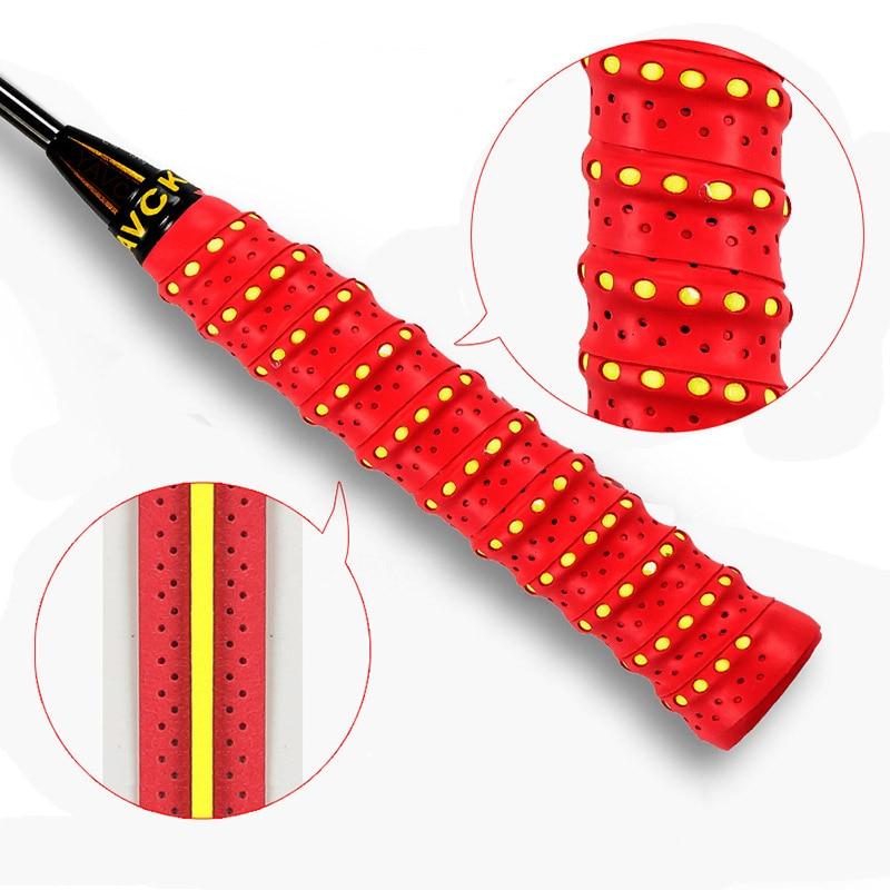 3 Pcs Anti-slip Tennis Overgrip Badminton Grip Sweatband Tape Windings For Fishing Rod THJ99