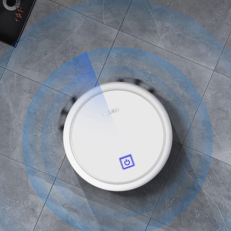 Купить с кэшбэком Robbery vacuum cleaner USB Charging Intelligent Lazy Robot Wireless Vacuum Cleaner Sweeping Vaccum Cleaner Robots Carpet