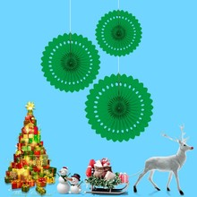 Christmas Decoration Pendant Creative Hollow Party Ornaments Exquisite 3D Paper Creativity Crafts
