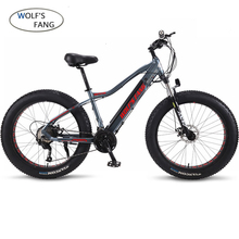 New Ebike Electric Bike 27 Speed 10ah 48v 500w E Bike 26*4.0 Mountain Bikes Fat Bike Road Electric Bicycle Aluminum Alloy mountain bike fat 48v 500w samsung lithium battery electric bicycle 10 an large capacity 27 speed 26 x 4 0 electric snow bike