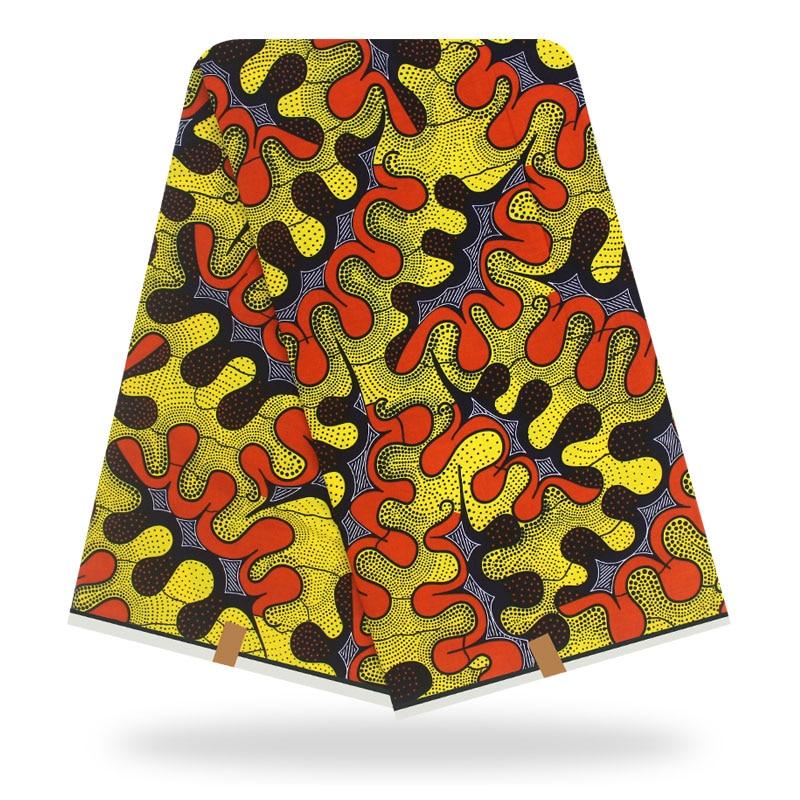 African Ankara Fabric African Wax Prints Fabric African Fabric 6yards 100% Cotton Fabric For Patchwork Batik African Print Wax