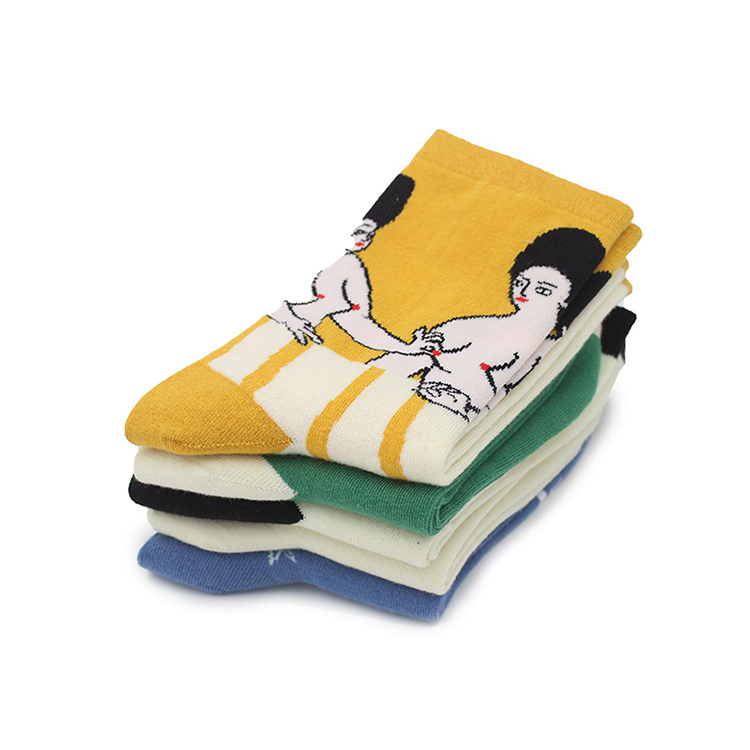 Details about  /2pcs Japan Harajuku Spring summer Brand funny Socks Woman Cotton Soft Breathable