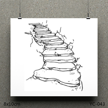 AZSG Country road Clear Stamps/seal for DIY Scrapbooking/Card Making/Photo Album Decoration Supplies