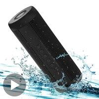 Outdoor Bicycle Portable Wireless Speaker Soundbar Radio FM Receiver Bluetooth Music Sound Box Bar Subwoofer Bass Aux Waterproof