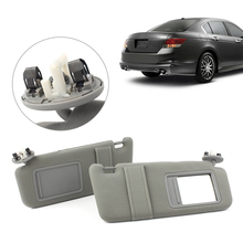 2Pcs Car Sun Visor Left Right Side Sunshade Shield Left Right for Toyota Camry Hybrid W/ Vanity Light 2007 2008 2009 2010 2011