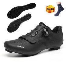 Chaussures de cyclisme hommes vtt VTT baskets Sports de plein air ultraléger Zapatillas Ciclismo autobloquant SPD route vélo chaussures