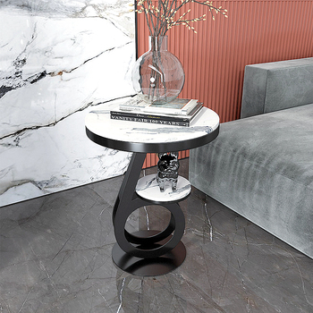 Music Notes Modeling  Luxury Marble Tea Table  2