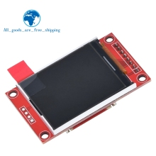 TZT 1,8 дюймов TFT lcd модуль ЖК-экран модуль SPI серийный 51 драйверы 4 IO драйвер TFT Разрешение 128*160 для Arduino