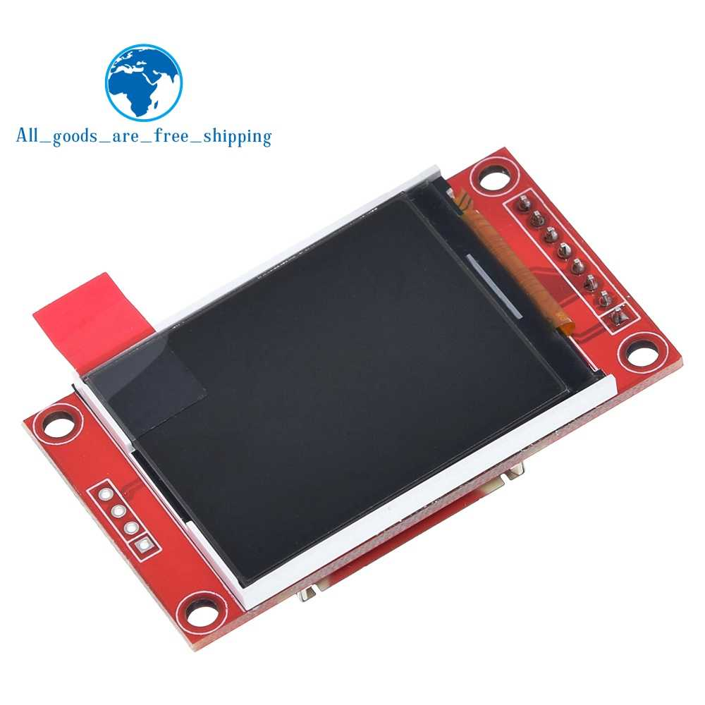1PCS TZT 1.8 inch TFT touch LCD Module LCD Screen Module SPI serial 51 drivers 4 IO driver TFT Resolution 128*160