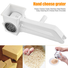 Blades Cheese-Grater Chocolate Rotary Stainless-Steel for K9store Easy-Cleaning