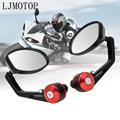Боковые зеркала заднего вида для мотоцикла  зеркало заднего вида для YAMAHA vmax 1200 1700 v max tenere 700 xtz700 xjr1300