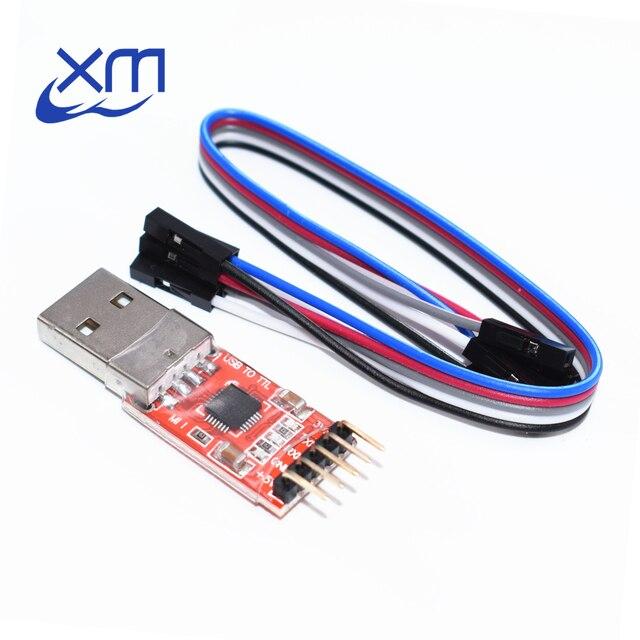 20 Bộ/lô Miễn Phí Vận Chuyển + CP2102 Nối Tiếp Bộ Chuyển Đổi USB 2.0 Sang TTL UART 5PIN Module Dupont Dòng A44