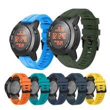 26Mm 22Mm Horloge Band Voor Garmin Fenix 6 6X Pro 5X 5 3 3HR /Forerunner 935 945 siliconen Sport Band Voor Garmin Enduro Polsband