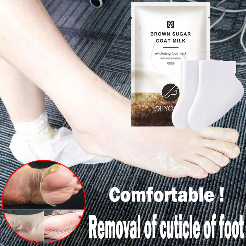 1 Pair Remove Dead Skin Foot Skin Smooth Exfoliating for Feet Mask Remove Dead Skin Heels Foot Peeling Feet Mask Foot Care Y813