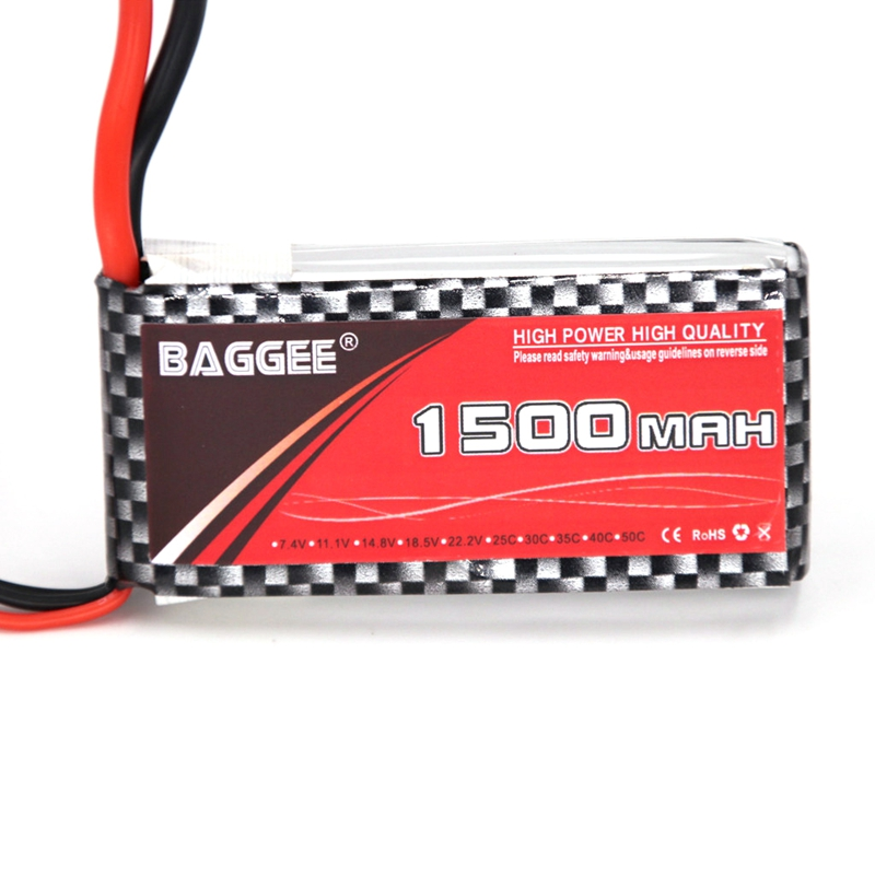 25C RC <font><b>LiPo</b></font> Battery <font><b>3S</b></font> 11.1V <font><b>1500MAh</b></font> 25C for RC Airplane Drone Helicopter Car Boat 11.1V <font><b>LiPo</b></font> <font><b>3S</b></font> Remote Control Toys Parts image