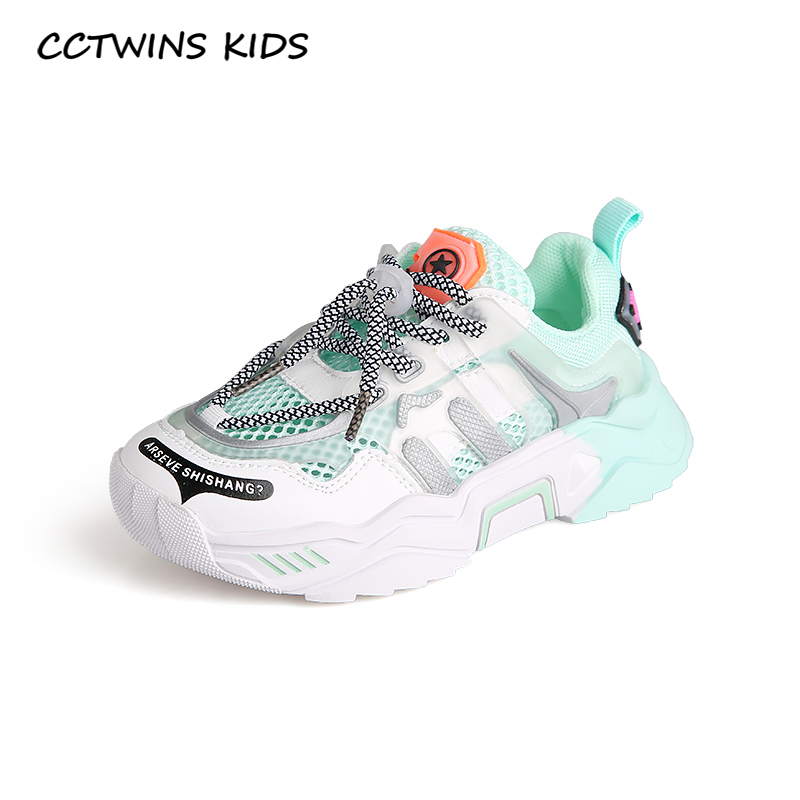 CCTWINS Kids Shoes 2020 Summer Children Mesh Casual Trainers Baby Girls Brand Sport Sneakers Boys Breathable Shoes FS3790