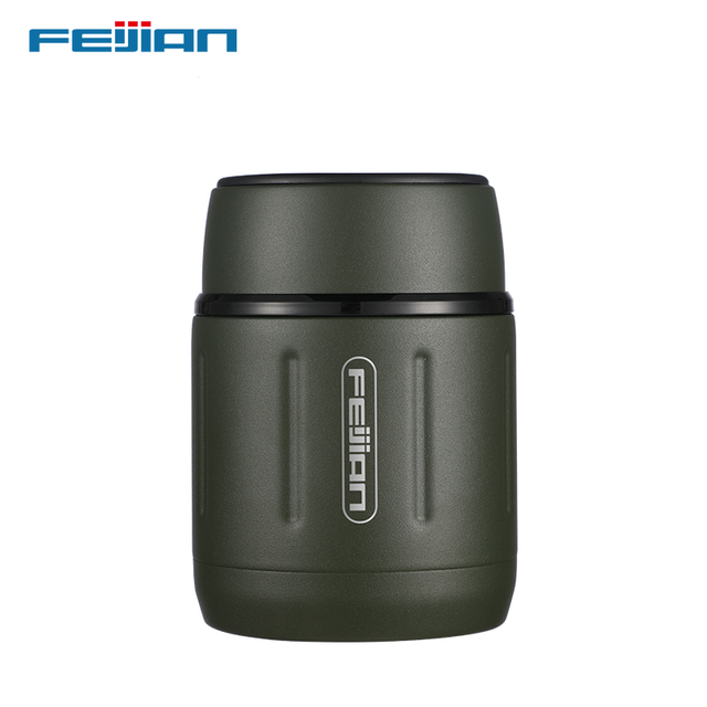 FEIJIAN Food Thermos, Food Jar, Business Portable Thermos Boxes, Insulated Lunch Box, 500ML, Stainless Steel Container 1