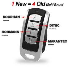 Porte de Garage porte télécommande roulement Code 315 390 868 433.92MHz télécommande duplicateur porte contrôle Garage commande émetteur