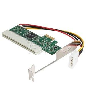 Image 1 - PCI Express PCI E إلى PCI حافلة الناهض بطاقة عالية الكفاءة محول محول