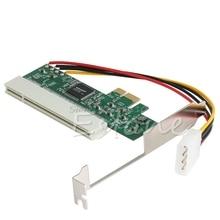 Pci express PCI E PCI veri yolu yükseltici kartı yüksek verimlilik adaptörü dönüştürücü