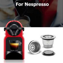 Stainless Steel For Nespresso Coffee Filters Metal Coffee Capsule Pods For Espresso Reusable