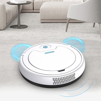 Multifunction Vacuum Cleaner Household Cleaning Tools Auto Rechargeable Smart Sweeper Robot Dry Wet Sweeping Vacuum Cleaner New smart multifunction whirlwind sweeper household hand push floor cleaner not need battery retractable rod broom sweeping machine