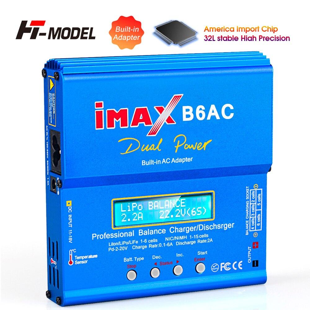 Оригинальное балансирующее зарядное устройство HTRC iMAX B6 для аккумуляторов переменного тока, балансирующее зарядное устройство для аккумул...