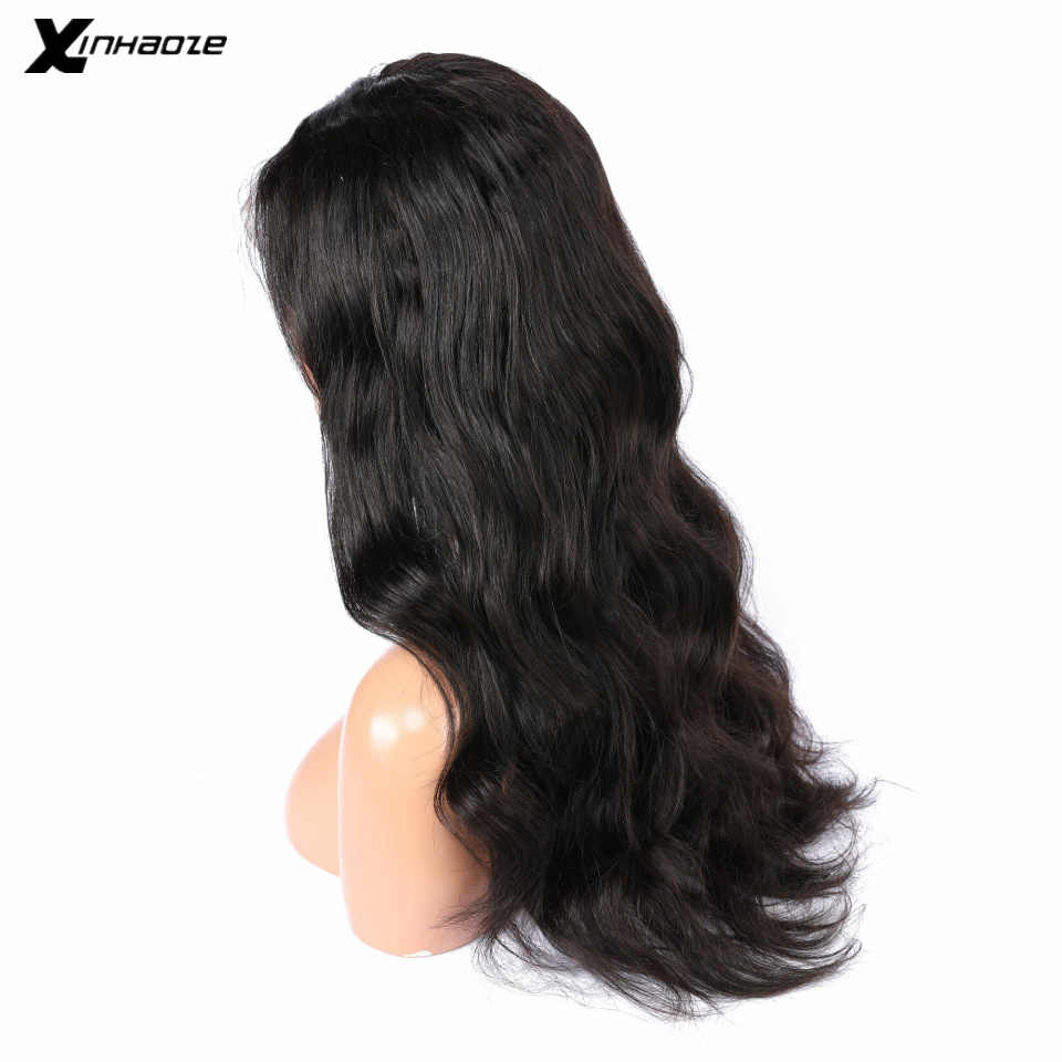 Full Lace Human Hair Wigs With Baby Hair Wet and Wavy Pre Plucked Glueless Full Lace Wigs For Women Body Wave Peruvian Remy Hair