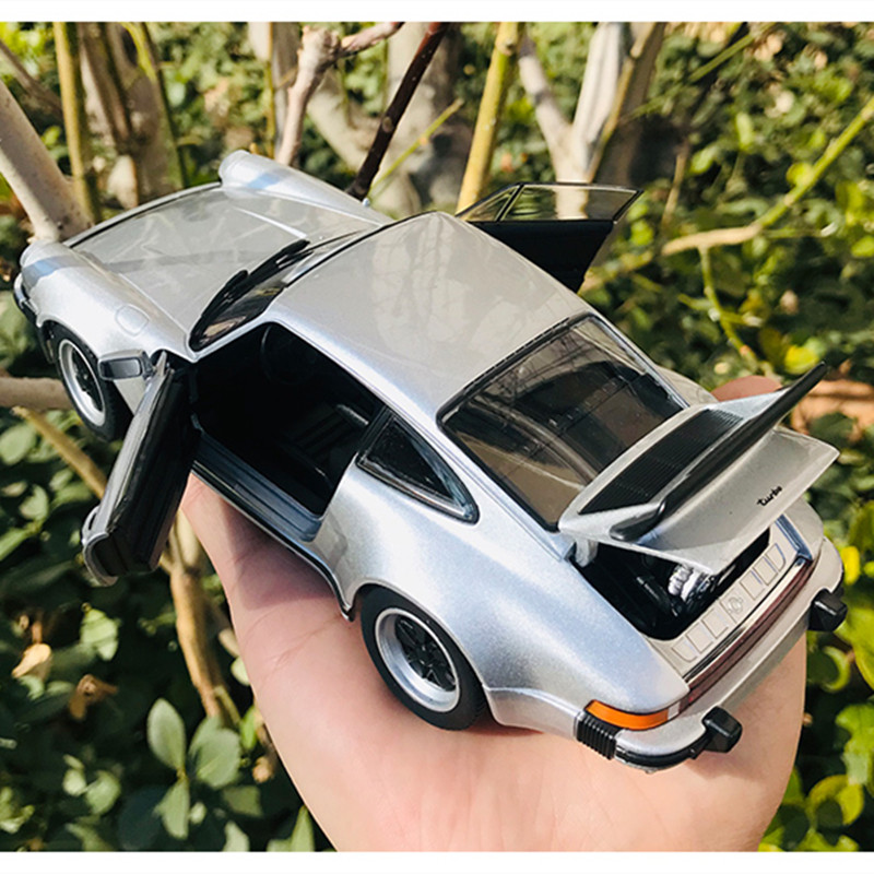 Welly 1:24 1974 Porsche 911 Turbo3.0 Die-cast Metal Alloy Model Toy Car 2 Boys Birthday Christmas Gift