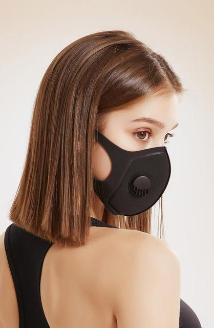 Cycling Face Masks Trainning Mask Respirators with filter masks Face shield Face mask Safety mask Breathable Mouth Mask 4