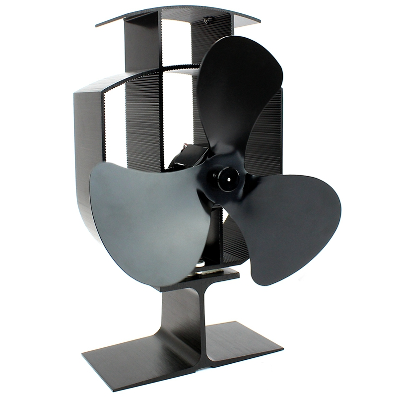 Heat Powered Stove Fan | Wood Log Burner Fireplace