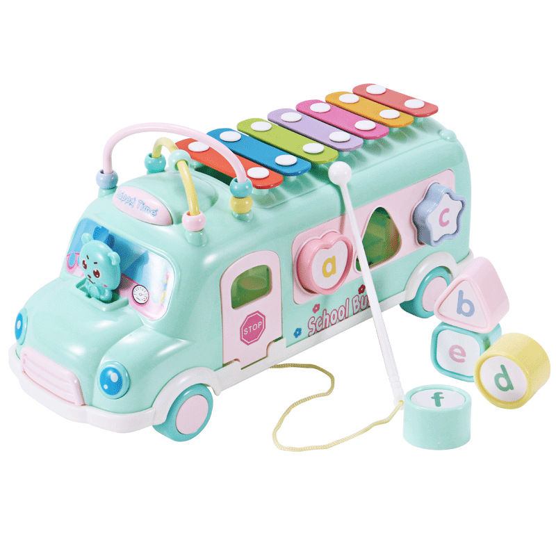 Eight Tones Xylophone Piano Young CHILDREN'S Infant Toy Piano 8 Months Baby Educational Music Toy 1-2-3 A Year Of Age