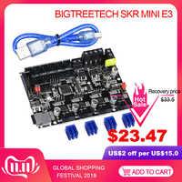 BIQU BIGTREETECH SKR MINI E3 carte de commande 32 bits intégré TMC2209 UART contrôleur TMC2208 mise à niveau de l'imprimante 3D Ender3 Pro