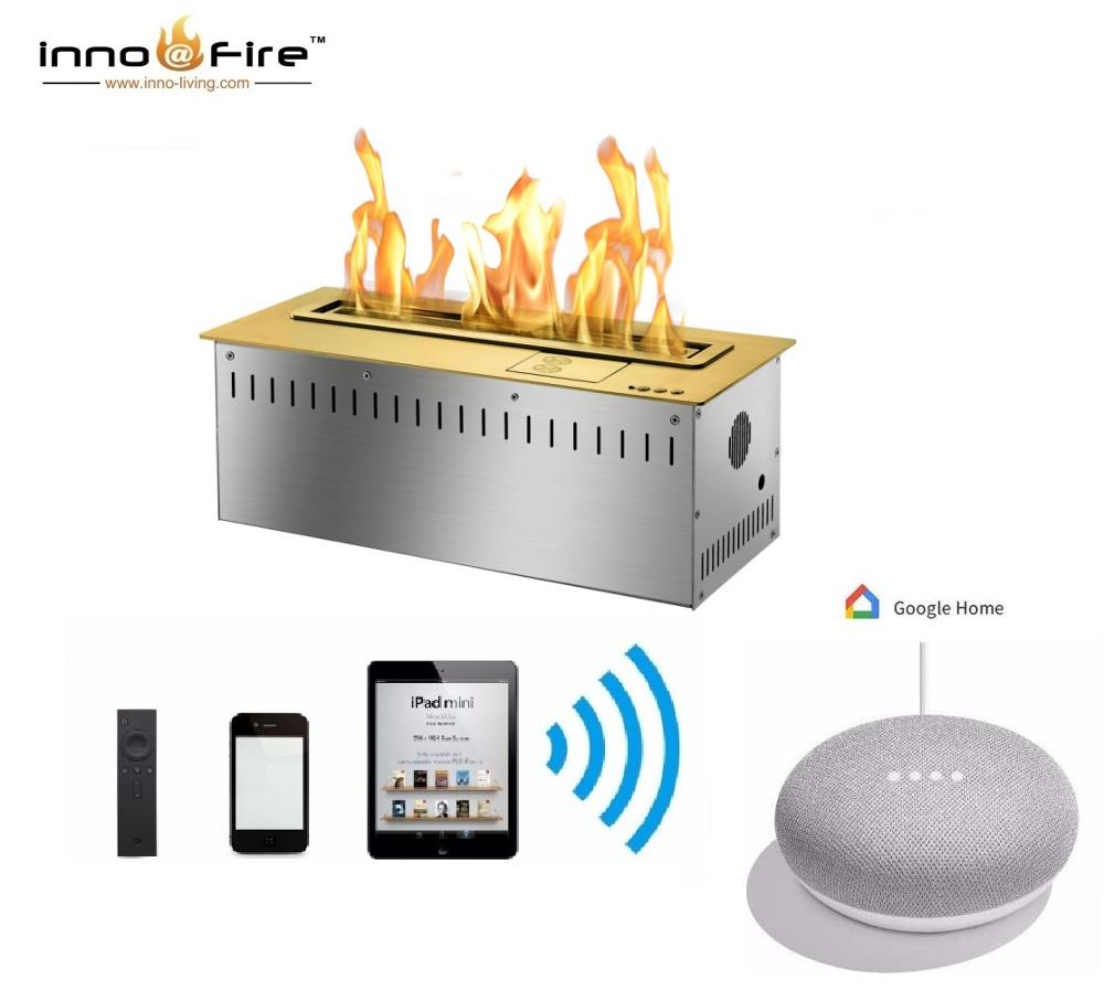Hot Sale 24 Inches Electric Intelligent Smart Biofuel Insert Fireplace