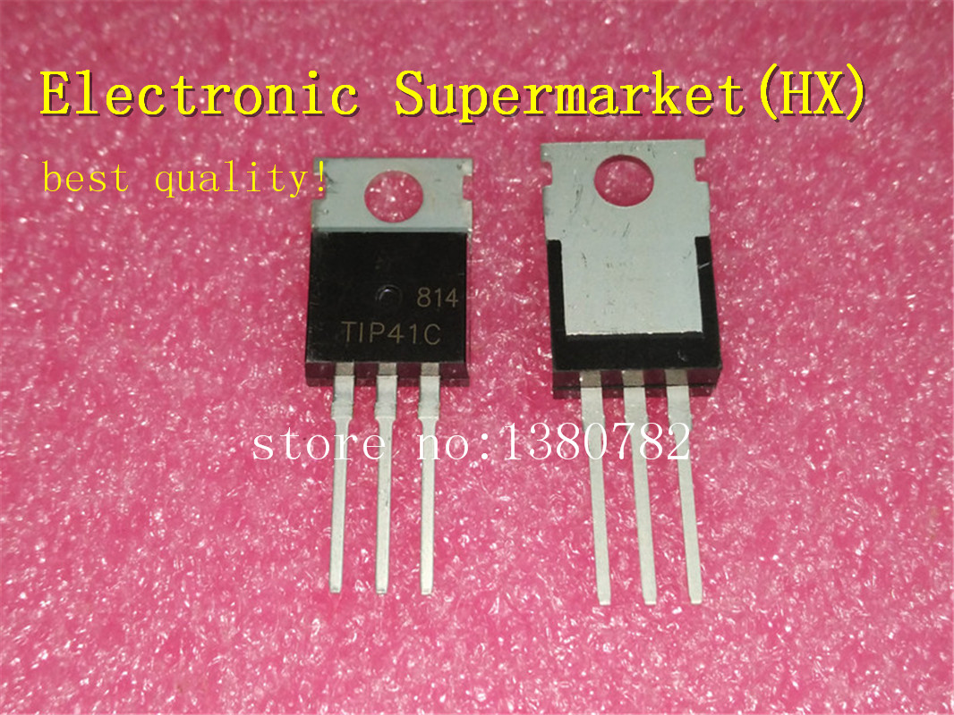 Free Shipping 200pcs/lots TIP41C TIP41 TO220 New original  IC In stock!lot lotic 2lot 20 pcs -