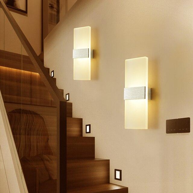 Mooi Moderne Led Acryl Wandlamp  6