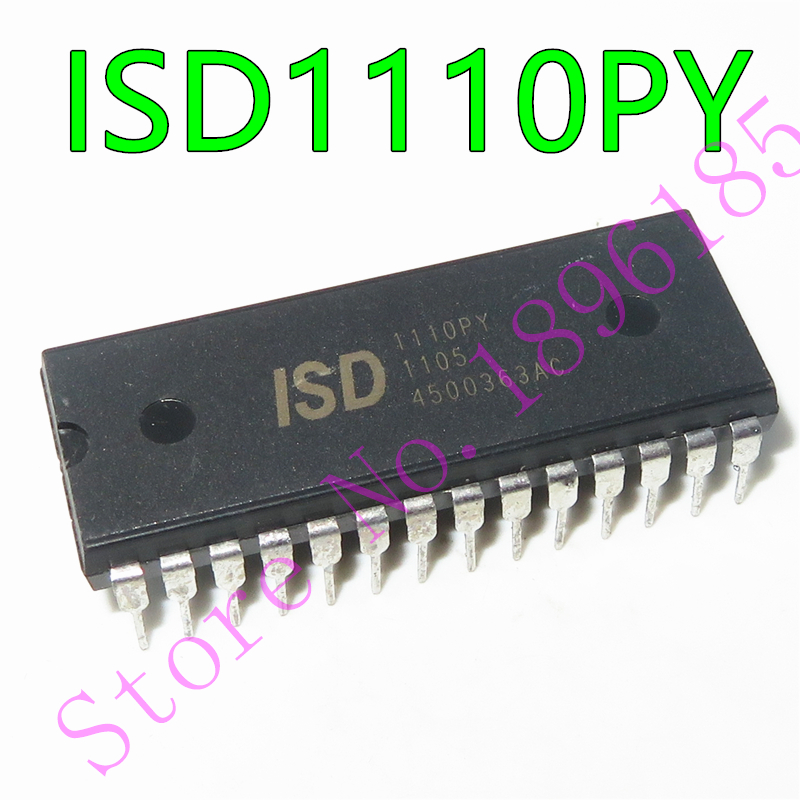 1 unids/lote ISD1110PY ISD1110 DIP28, одночиповые устройства записи/воспроизведения голоса