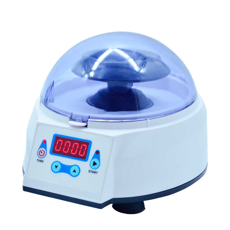 Mini laboratorium 4000 obr./min ~ 8000 obr./min wirówka elektryczna medyczna kosmetologia maszyna wirówka biurkowa z timerem