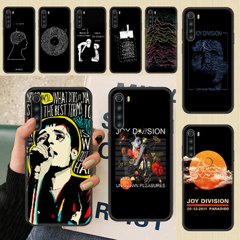 Joy Division Ian Curtis Phone case For Xiaomi Redmi Note 7 7A 8 8T 9 9A 9S 10 K30 Pro Ultra black soft coque luxury cell cover image