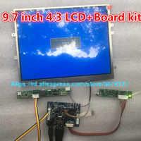 Pantalla HD de 9,7 pulgadas 1024x768, controlador LCD LP097X02 LTN097XL01, placa controladora de monitor, HDMI, VGA, 2AV, para Raspberry Pi