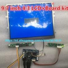 Плата драйвера монитора LP097X02 LTN097XL01, для Raspberry Pi, ЖК-контроллер 9,7 дюйма, экран 1024*768 HD, 4: 3, HDMI VGA 2AV
