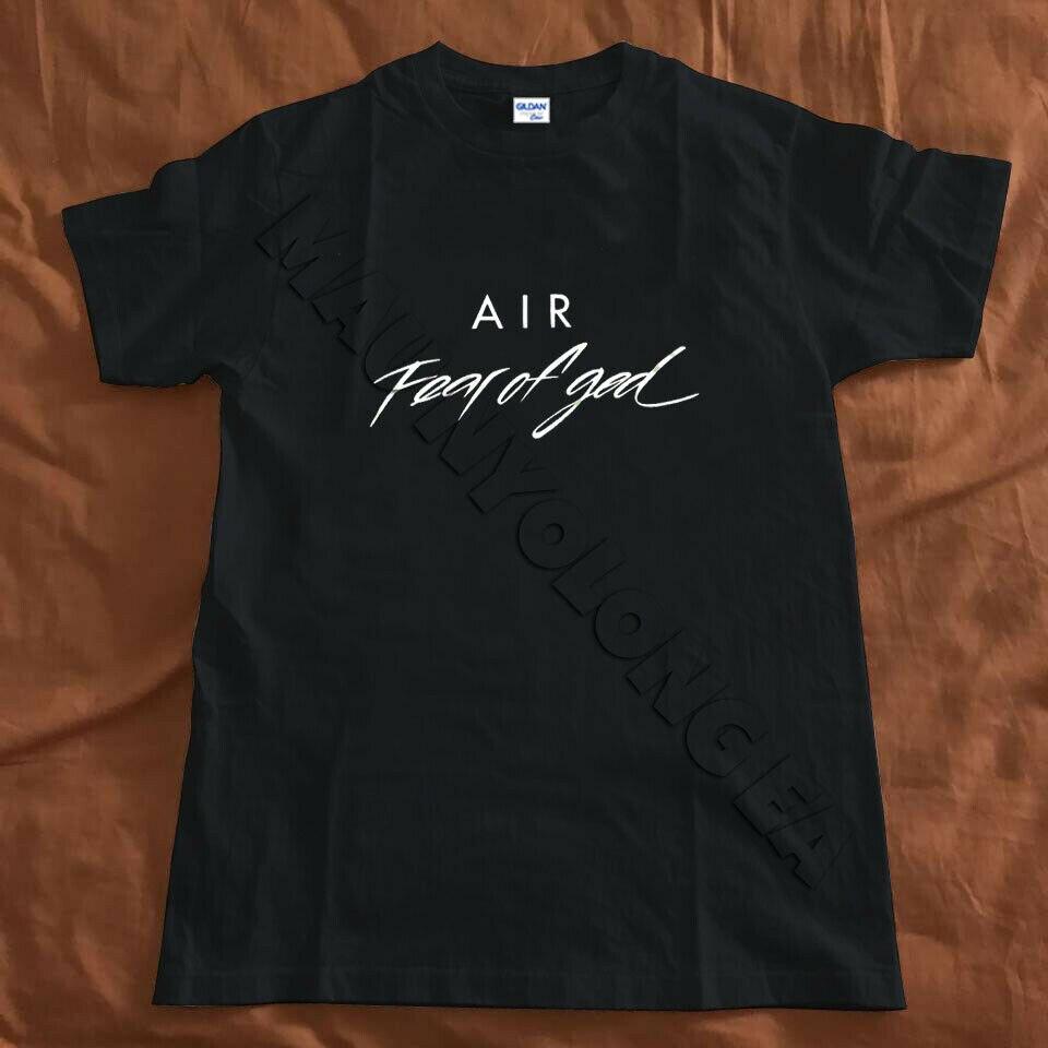 ¿Aire temor de Dios niebla seca Fit La camisa del evento? Tamaño Unisex S-3Xl