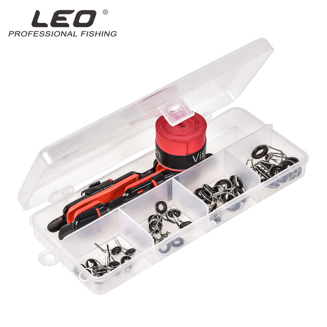 Lure Accessories Set DIY Fishing Reel Wheel Seat Rod Clip With Sweat Belt And Guide Ring 1