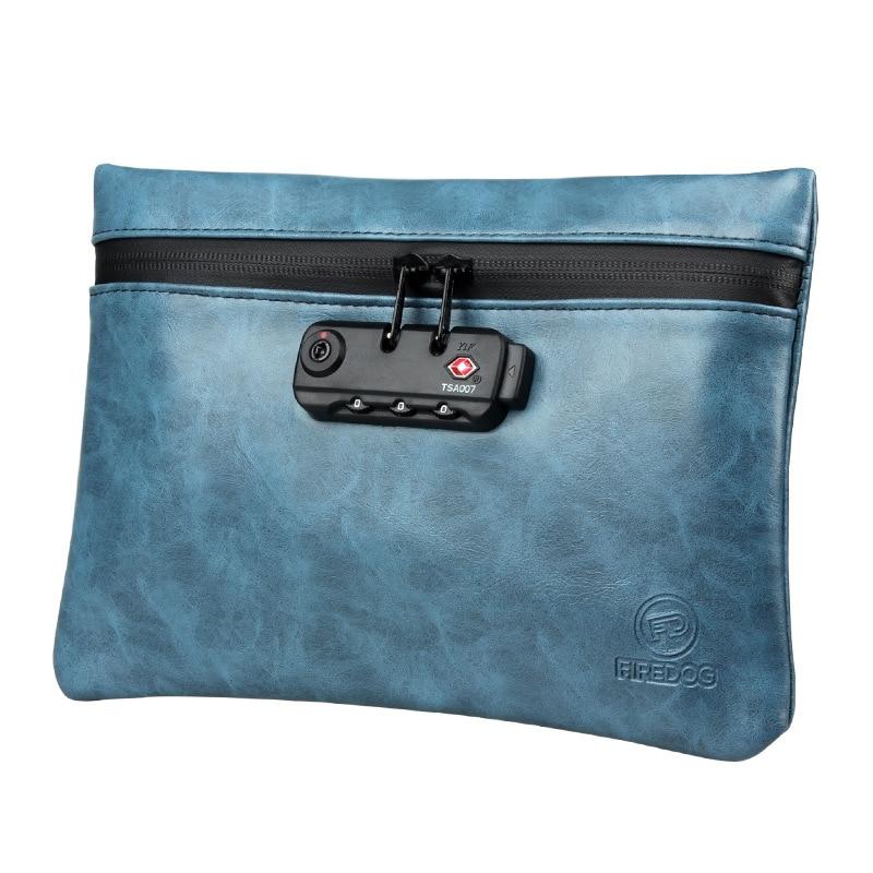 Курительная сумка для табака из искусственной кожи, сумка для табака с замком для травяных трав, сумка для хранения