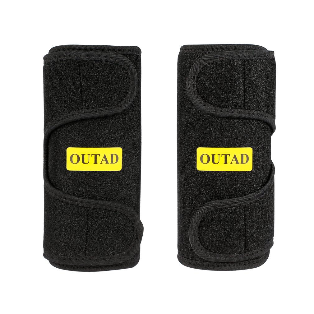 Sport Arm OUTAD Premium Flexible Arm Trimmers Latex-free Neoprene Superior Heat Insulation Soft Touching Black 2PCS