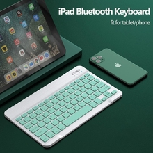 Bluetooth Keyboard and Mouse for Tablet Phone Universal 10 inch Keyboard for Samsung S6 for iPad Pro Air 4 Keyboard 2.4G Mouse