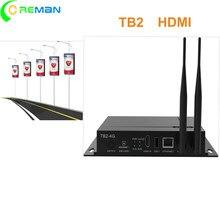 Panneau d'affichage LED RGB NOVA TB2 /TB3/TB4 /TB8, WIFI 3G/4G, contrôleur asymétrique, panneau d'affichage électrique